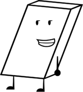 White eraser recommended character from bfdi by brownpen0-daapjjd