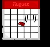 Calendar Pose