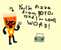 Pizza From BOTO Can Rap!