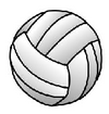 Volleyball body
