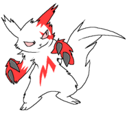 Stabs the zangoose by mangusulover-d31pv3t