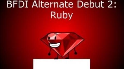 BFDI Alternate Debut 2 Ruby
