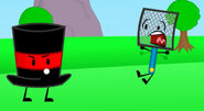Top Hat Scares Fly Swat