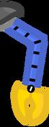 Robo-guy's left right arm