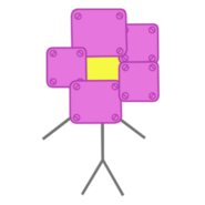 BFDI ROBOT FLOWER NEW NEW