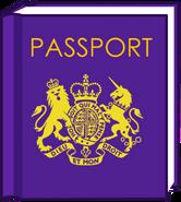 Passport body