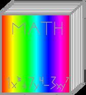 Math book body