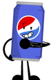 Pepsi can's pose
