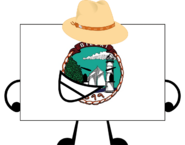 Biloxi Flag Pose