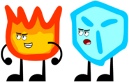 Old Firey and Icy