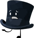 Dark Hat Pose