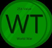 Win Token (25¢ value)