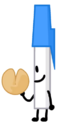 Pen holding Fortunate Cookie