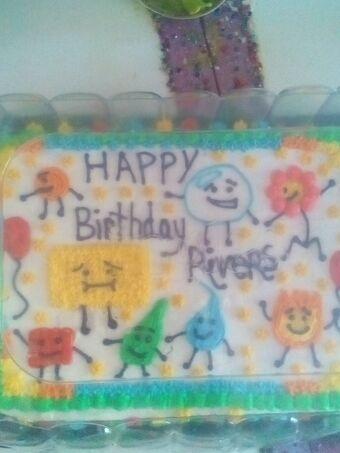 Sensational User Blog Slimergamer953 My Amazing Birthday Cake Object Shows Funny Birthday Cards Online Elaedamsfinfo