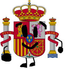 Spanish Coat Of Arms Pose