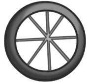 Bicycle Tire's Body