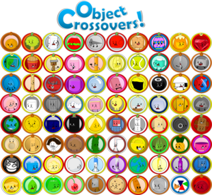 All 80 object crossovers contestants token by supercdworld-d87o90h
