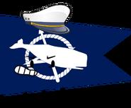 Nantucket Flag Pose