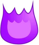 Purple Firey Body