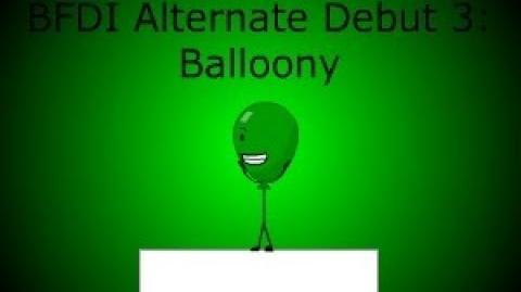 BFDI Alternate Debut 3 Balloony