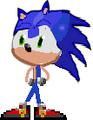 Sonic in BFDI