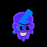 Negative Skull Head