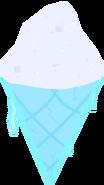 Frozen ice cream