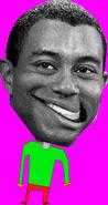 Omega Tiger Woods Standing
