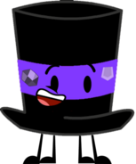 Purple Top Hatt