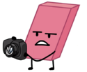 Eraser holding Camera