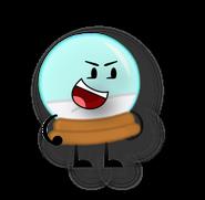 Snow globe Pose