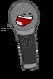 Microphone Valentine Pose