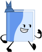 BlueBooksonaPose