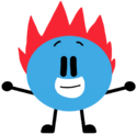 Red flaming spike ball by sugar creatorofsfdi-dcb0lw5