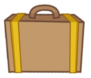Suitcase Front