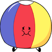 Beach Ball's New Pose