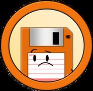 Anthropomorphous Adventures Floppy Disk