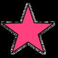 Pink Star (Body)