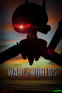 Jacknjellify's War of The Worlds Poster