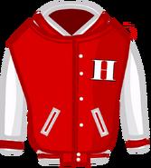 Varsity jacket's body
