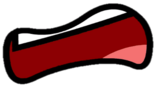 Freaked Out Mouth BFDI Style