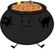 Candy Cauldron Pose