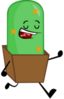 Cactus fan made pose by objectdudeisland-d7gxiwu