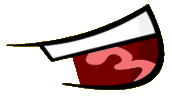 Extremely Happy Mouth BFDI Style