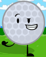 Golf Ball's Pose