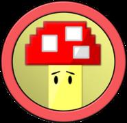 Battle For Food Pixelated Mushroom2