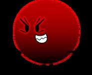 Dark Red Ball
