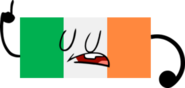 Inanimate War - Ireland Flag