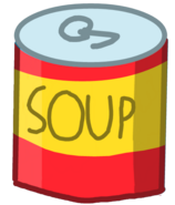 Soup Can's New body