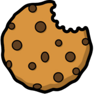 Bitten cookie